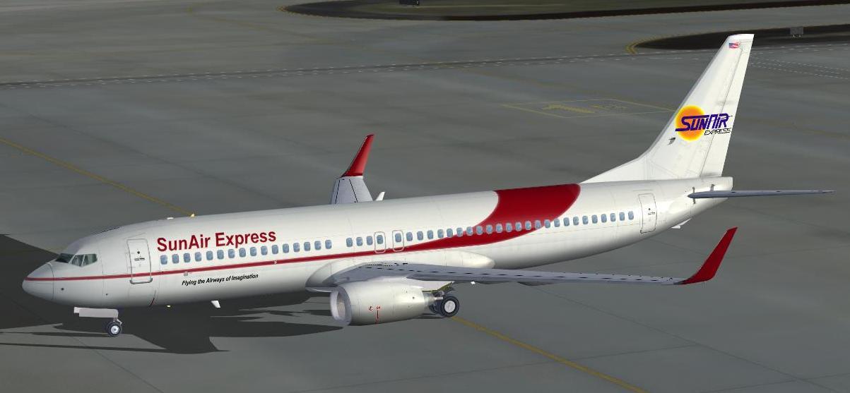 SunAir Express Boeing 737-800